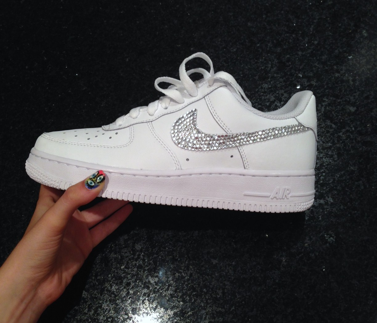 nike air force one basse blanc